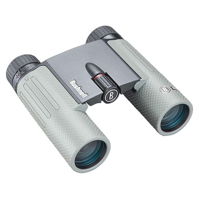 Bushnell Nitro 10x25 Gun Metal Gray Roof Prism FMC, UWD, EXO Barrier Binoculars BN1025G