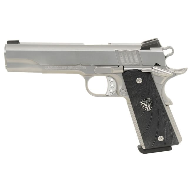 Cabot S100 Government 45 ACP Stainless G-10 Scallop Grips Cabot-S100Government