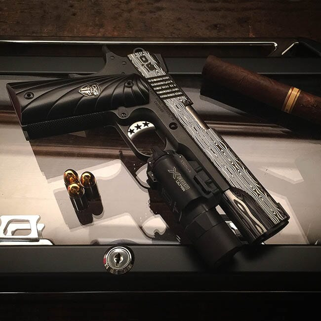 Cabot Ultimate Bedside 1911. No Forend Rail and No Light.