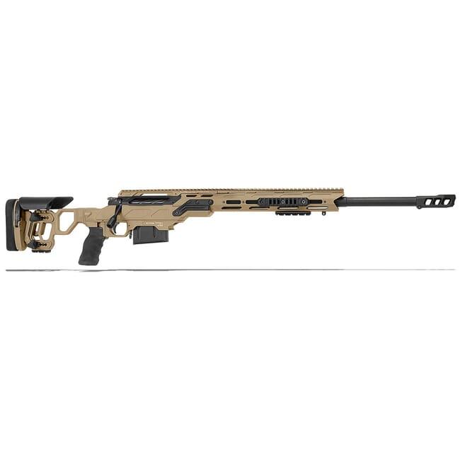 "Cadex Defense Freedom Tac Tan/Black 300 Win Mag 26"" 30 MOA Skeleton Rifle CDX300-TAC-300-26-B-MB-HTB"