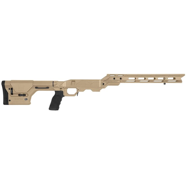 "Cadex Defense Field OT Tan Chassis for Remington 700 Short Action DSSF 3.055"" Mag. STKFOT-REM-RH-SA-TAN"