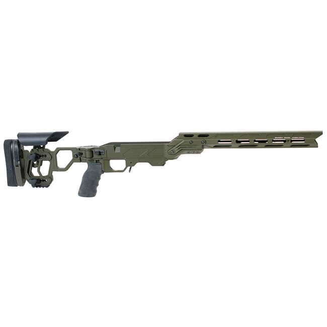 Cadex Lite Competition for Tikka -T3 Short Action OD Green