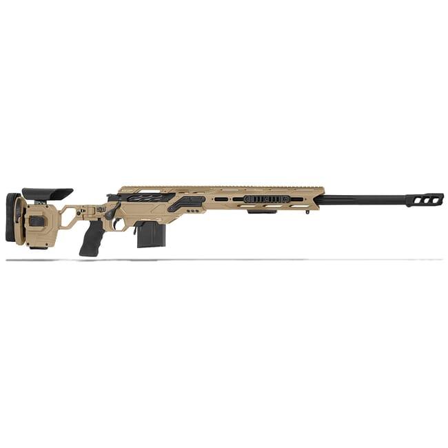 "Cadex Defense Kraken Multi-Caliber Tan/Black 260 Rem 24"" 20 MOA Standard Rifle CDXMC-KRKN-260-24-R-MB-HTB"