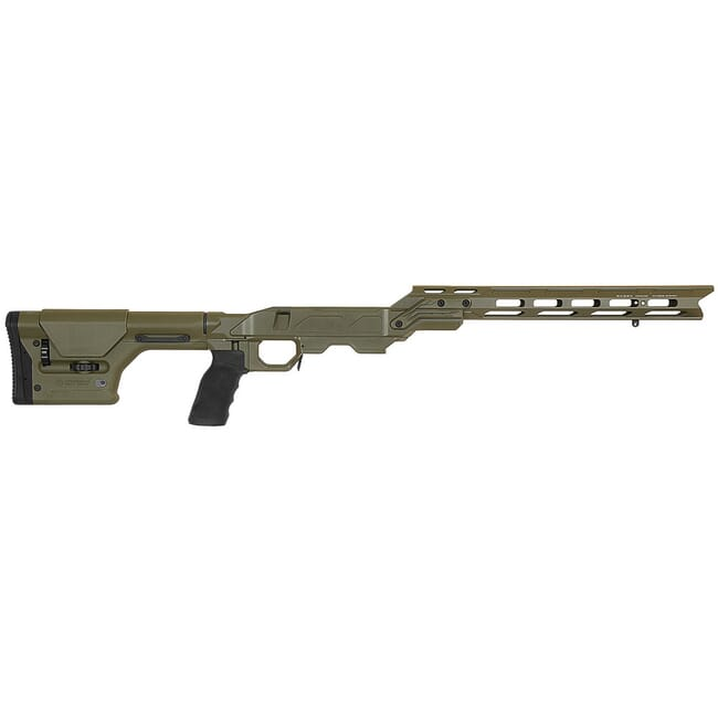 "Cadex Defense Field OT OD Green Chassis for Remington 700 Short Action DSSF 3.055"" Mag. STKFOT-REM-RH-SA-ODG"