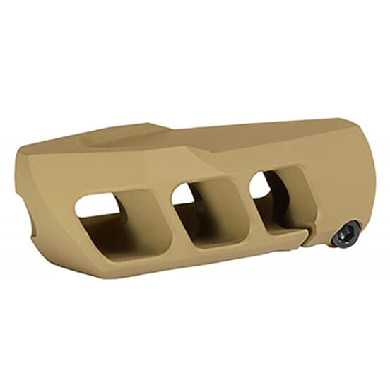 Cadex MX1 3/4-20 Thread Tan Muzzle Brake 3850-022
