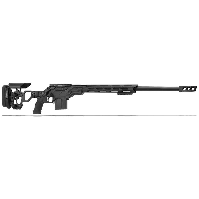 "Cadex Defense R7 Lite Comp M-LOK Black 300 Norma 26"" 30 MOA Skeleton Rifle CDXR7-LCP-3NM-26-B-MB-BLK"