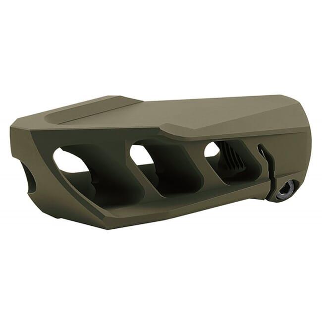Cadex MX1 Muzzle Brake Olive Drag Green for 50BMG (1-14 thrd) 3850-044-ODG