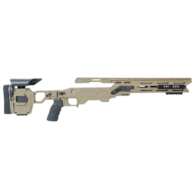 "Cadex Dual Strike (for Stiller Compatible .375CT Cal./.408CT Cal.) 1.450"" model for Cadex Mag. Hybrid Tan/Black Chassis  MPN STKDL-STC-RH-XL4"