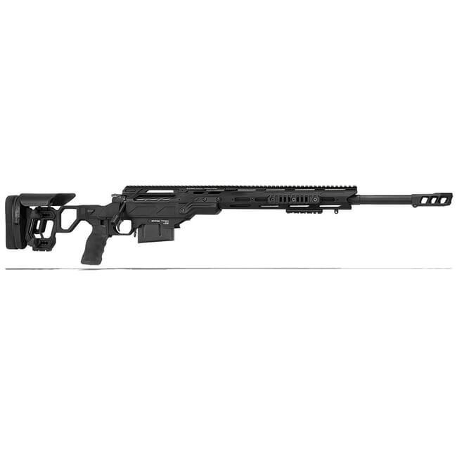 """Cadex Defense Guardian Tac Black 260 Rem 24"""" 20 MOA Skeleton Rifle CDX30-TAC-260-24-B-MB-BLK"""