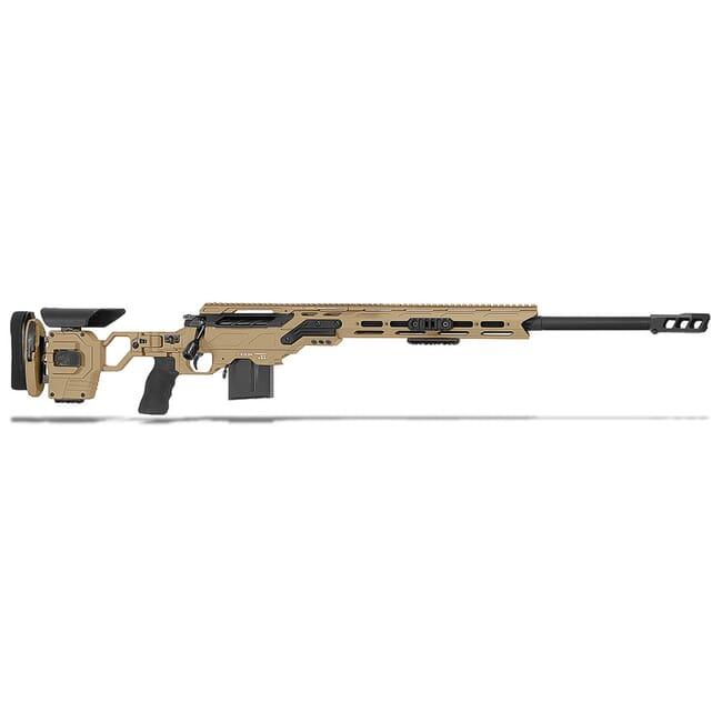 "Cadex Defense Guardian Lite Tan/Black 6 Creedmoor 24"" 20 MOA Standard Rifle CDX30-LITE-6CM-24-R-MB-HTB"