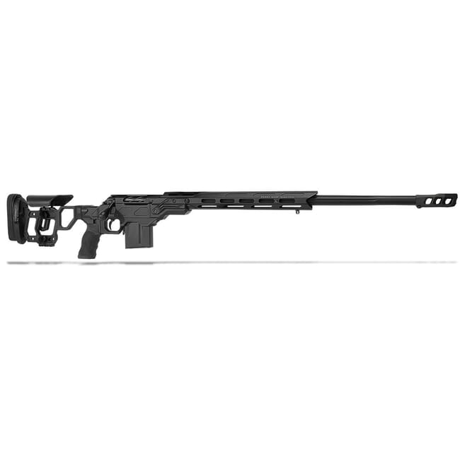 "Cadex Defense R7 Field Comp M-LOK Black 260 Rem 24"" 20 MOA Skeleton Rifle CDXR7-FCP-260-24-B-MB-BLK"
