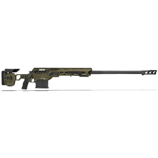 "Cadex Defense Shadow, .375CT, 32"" Hybrid Green/Black Rifle CDX40-SHDW-375-32-HOD-FT"