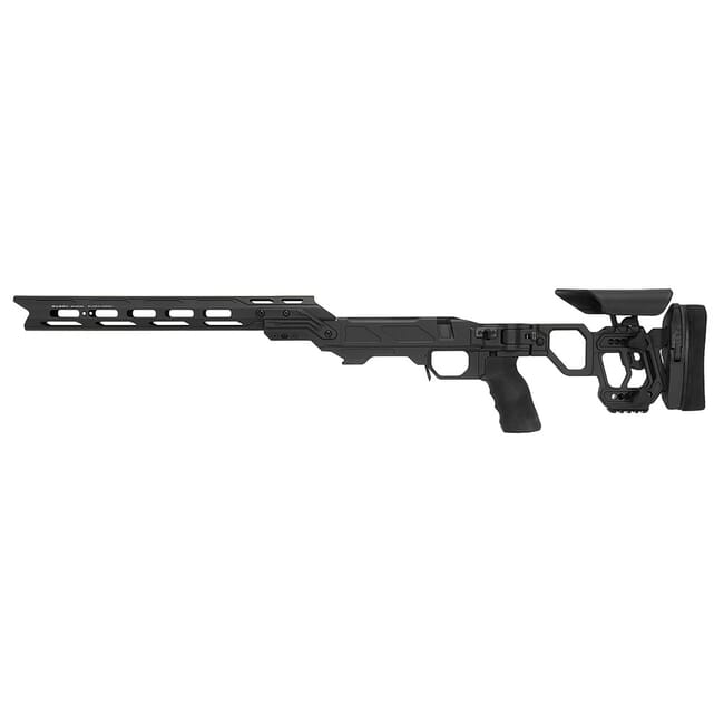"Cadex Defense Lite Competition M-LOK Black Rem 700 LA LH Skeleton Folding for SSSF 3.850"" CIP Chassis STKLCP-REM-LH-LA-B-NA-E-BLK"