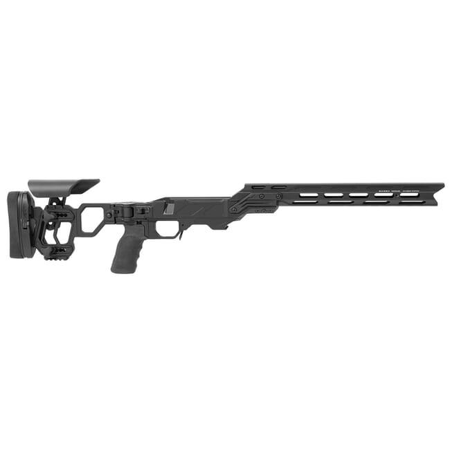 Cadex Lite Competition (for Remington 700) Short Action.  Folding Model. Black MPN STKLCP-REM-RH-SA-BL