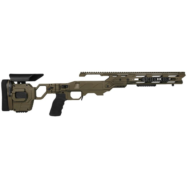 "Cadex Defense Lite Strike OD Green Rem 700 LA Standard Folding 20 MOA #6-48 for SSSF 3.715"" Chassis STKLT-REM-RH-LA-R-206-C-ODG"