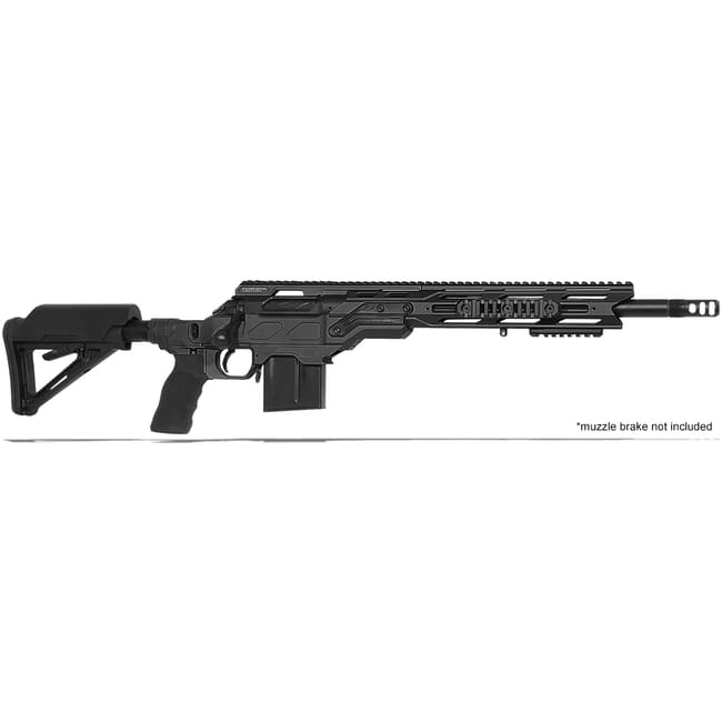 "Cadex Defense R7 C.O.P.S. (Takedown) Black 308 Win 16.5"" 20 MOA Standard Rifle CDXR7-COPS-308-165-R-MB-BLK"