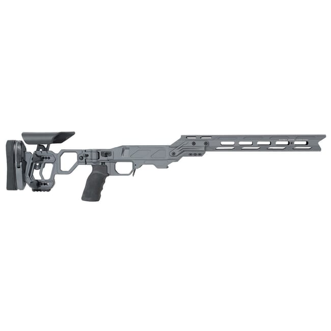 Cadex Defense Lite Competition (for RH Remington 700/Defiance Deviant .308) Short Action Sniper Grey STKLCP-REM-RH-SA