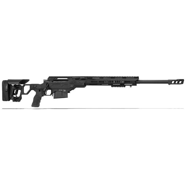 "Cadex Defense Freedom Tac Black 300 Win Mag 26"" 30 MOA Skeleton Rifle CDX300-TAC-300-26-B-MB-BLK"