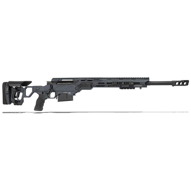 "Cadex Defense Guardian Tac Sniper Grey/Black 6.5 Creedmoor 24"" 20 MOA Skeleton Rifle CDX30-TAC-6.5-24-B-MB-HGB"