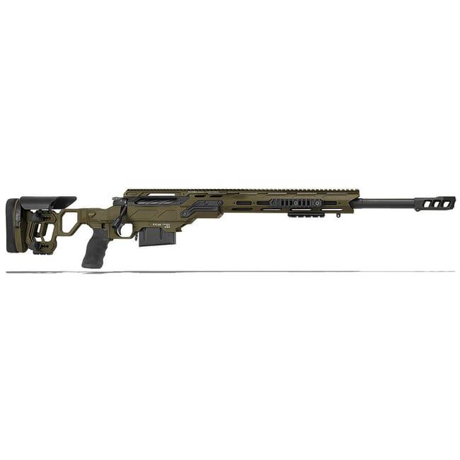 "Cadex Defense Guardian Tac OD Green/Black 308 Win 24"" 20 MOA Skeleton Rifle CDX30-TAC-308-24-B-MB-HOD"