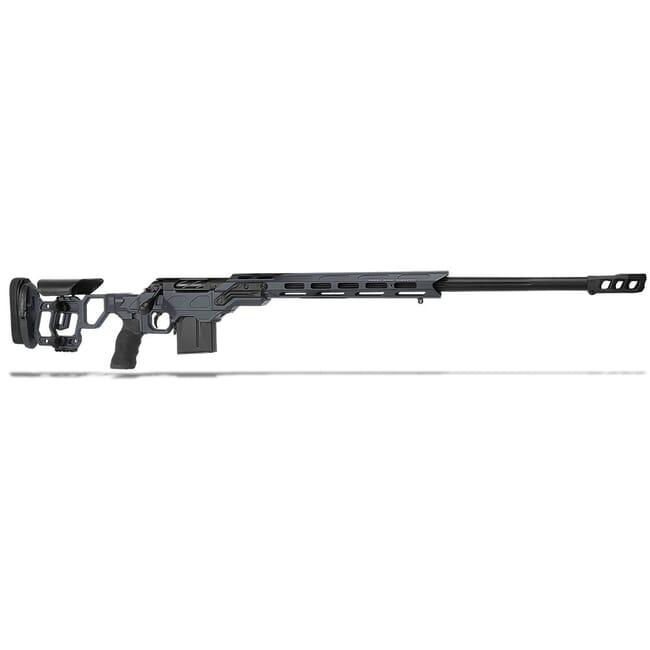 "Cadex Defense R7 Field Comp M-LOK Sniper Grey/Black 300 Win Mag 26"" 30 MOA Skeleton Rifle CDXR7-FCP-300-26-B-MB-HGB"