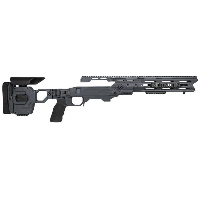 "Cadex Defense Dual Strike Sniper Grey Rem 700 LA Standard Folding 20 MOA #6-48 for SSSF 3.715"" Chassis STKDL-REM-RH-LA-R-206-C-GRY"