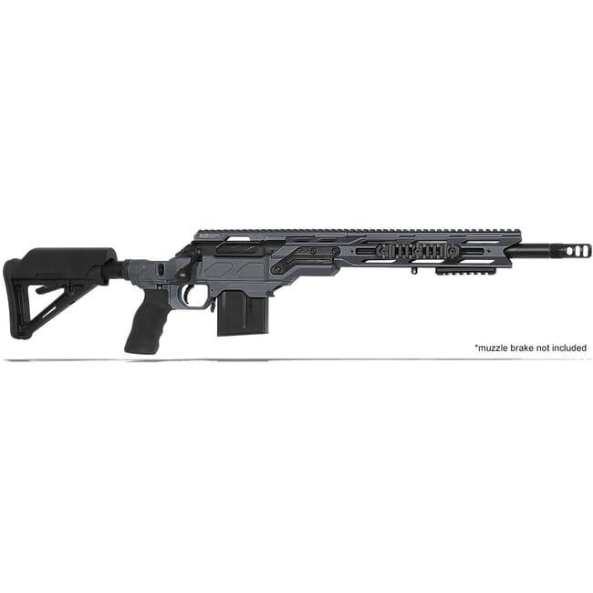 "Cadex Defense R7 C.O.P.S. (Takedown) Sniper Grey/Black 308 Win 16.5"" 20 MOA Standard Rifle CDXR7-COPS-308-165-R-MB-HGB"