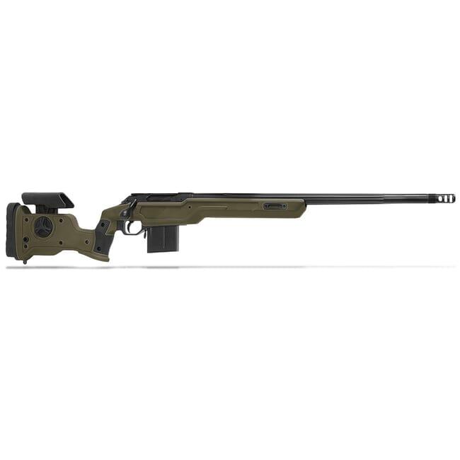 """Cadex Defense R7 Sheepdog Evo M-LOK, 6.5 Creedmoor, 24"""" Hybrid Green/Black Rifle CDXR7-SDOG-6.5-24-HOD-FT"""