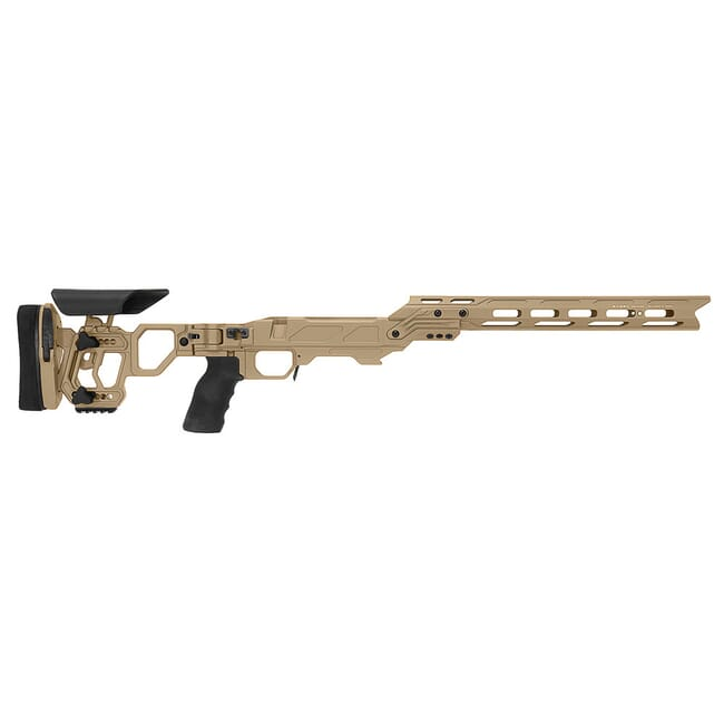 Cadex Defense Lite Competition M-LOK Tan Rem 700 M24 Skeleton Folding Chassis STKLCP-M24-RH-LA-B-NA-BChassis