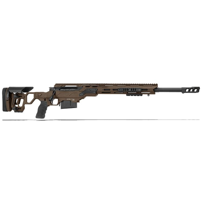 "Cadex Defense Guardian Tac Stealth Shadow/Black 308 Win 24"" 20 MOA Skeleton Rifle CDX30-TAC-308-24-B-MB-HSB"