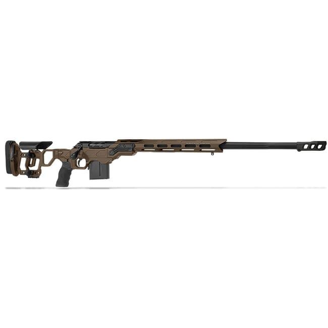 "Cadex Defense R7 Field Comp M-LOK Stealth Shadow/Black 300 Win Mag 26"" 30 MOA Skeleton Rifle CDXR7-FCP-300-26-B-MB-HSB"