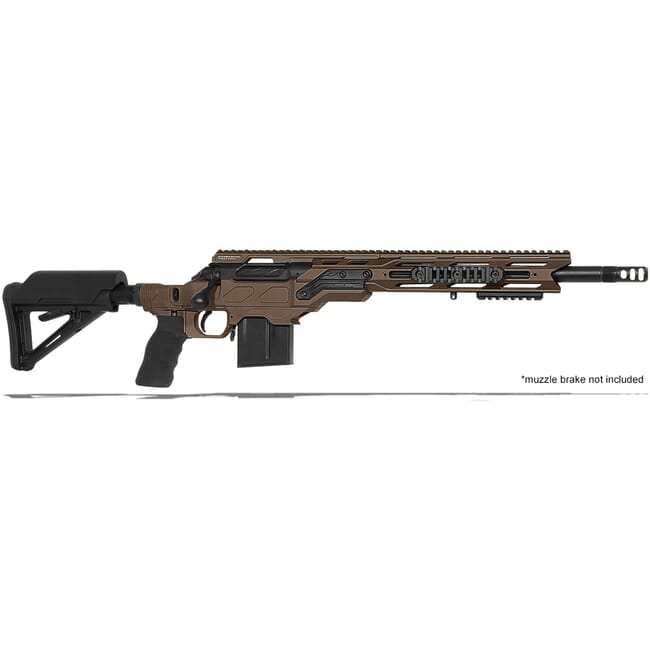 "Cadex Defense R7 C.O.P.S. (Takedown) Stealth Shadow/Black 308 Win 16.5"" 20 MOA Standard Rifle CDXR7-COPS-308-165-R-MB-HSB"