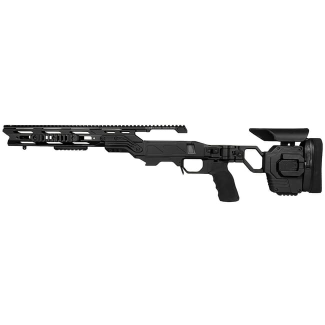 "Cadex Defense Lite Strike Black Rem 700 LA LH Standard Folding 20 MOA #6-48 for SSSF 3.715"" Chassis STKLT-REM-LH-LA-R-206-C-BLK"
