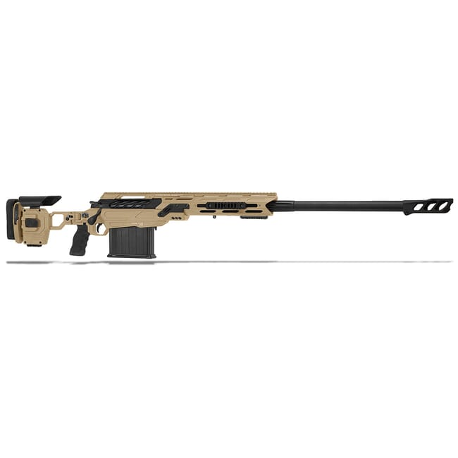 "Cadex Defense Tremor, 50BMG, 29"" Hybrid Tan/Black Rifle CDX50-DUAL-50-29-HTB-FT"