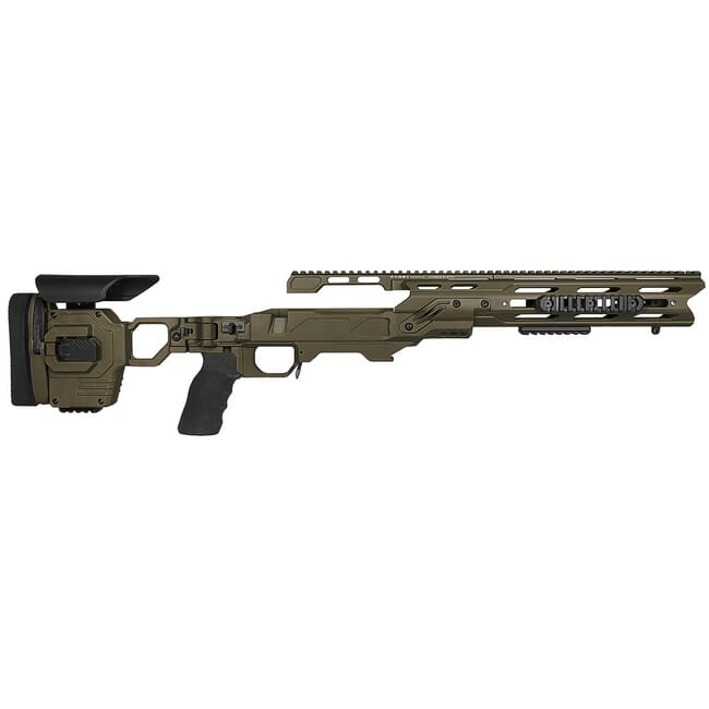 "Cadex Defense Dual Strike OD Green Rem 700 LA Standard Folding 20 MOA #6-48 for SSSF 3.715"" Chassis STKDL-REM-RH-LA-R-206-C-ODG"