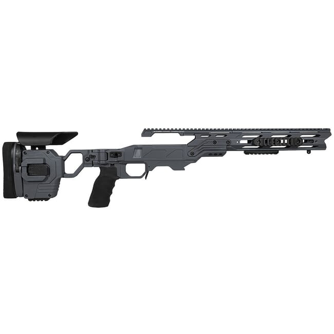 "Cadex Defense Lite Strike Sniper Grey Rem 700 LA Standard Folding 20 MOA #6-48 for SSSF 3.715"" Chassis STKLT-REM-RH-LA-R-206-C-GRY"