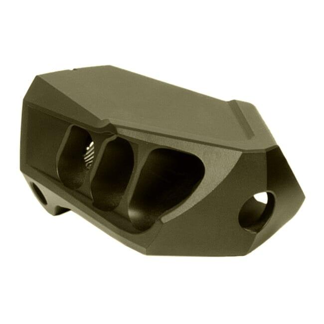Cadex MX1 Mini Muzzle Brake Max .30 Cal. O.D. Green (5/8-24 Thrd) 3850-438-ODG