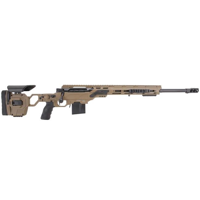 "Cadex Defense Guardian Lite, 6.5 Creedmoor, 24"" Hybrid Tan/Black Rifle CDX30-LITE-6.5-24-HTB-FT"