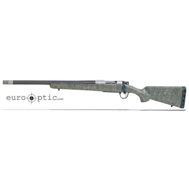 "Christensen Arms Ridgeline 6.5 Creedmoor 20"" 1:8 Green w/ Black & Tan Webbing LH Rifle 801-06006-01"