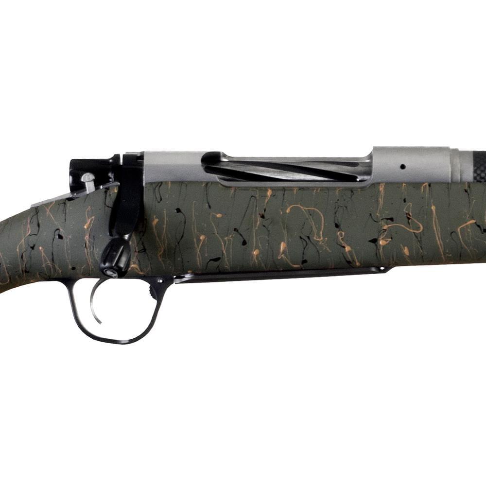Christensen Arms Ridgeline 28 Nosler Green W/ Black and Tan Webbing Rifle  CA10299-815313
