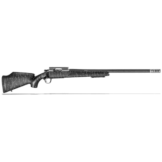 "Christensen Arms Traverse .243 Win 24"" 1:10"" Black w/ Gray Webbing Rifle 801-10002-00"