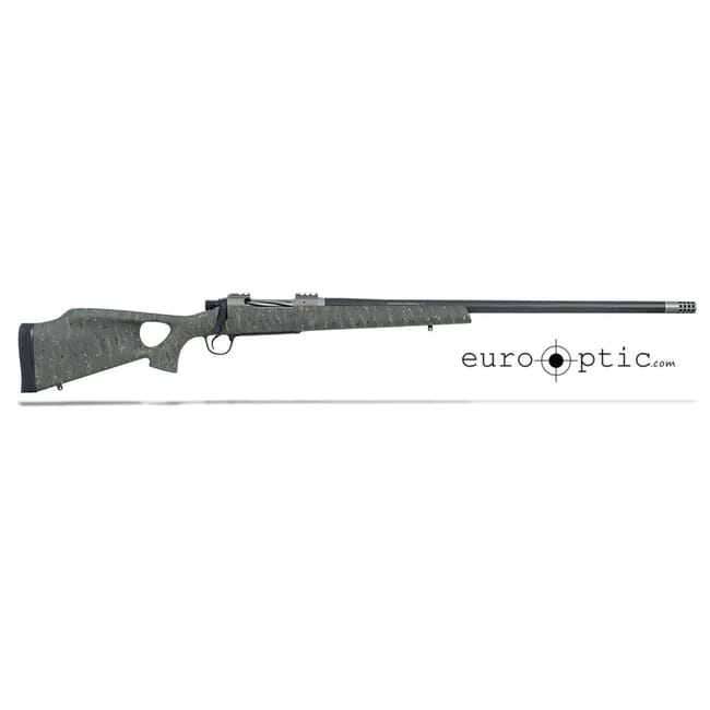 "Christensen Arms Summit Ti-TH .338 Lapua Mag 27"" Green W/Black Webbing Rifle CA10269-717422"