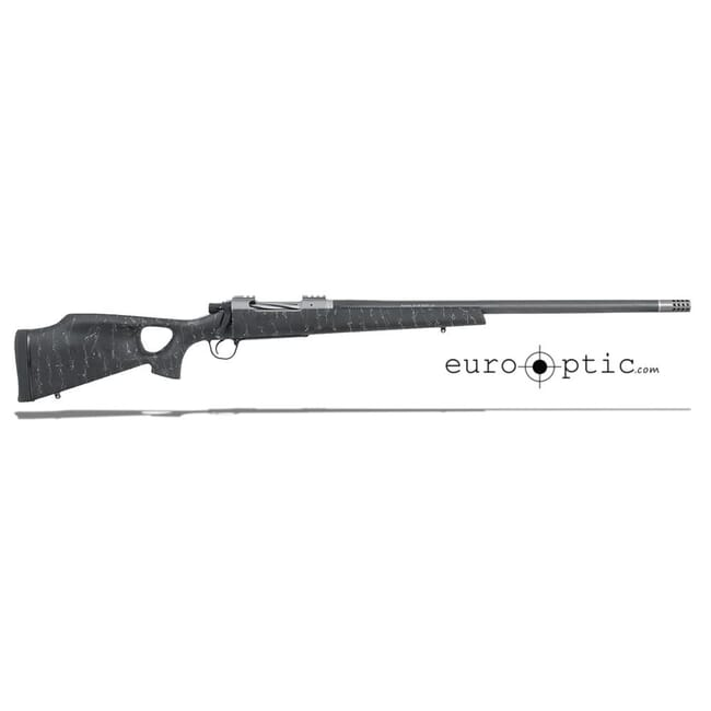 "Christensen Arms Summit Ti-TH .300 WSM 24"" Thumbhole Black W/Gray Webbing Rifle CA10269-614421"