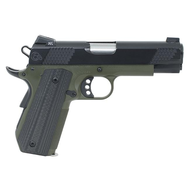 "Christensen Arms G4-Ti .45 ACP 4"" OD Green/Black Pistol CA10284-2121311"