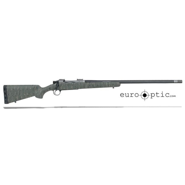 "Christensen Arms Summit Ti 30 Nosler 26"" Green W/Black And Tan Webbing Rifle CA10268-P15433"