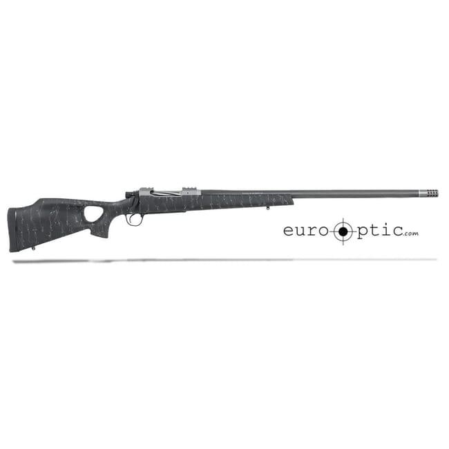 "Christensen Arms Summit Ti-TH 26 Nosler 26"" Thumbhole Black W/Gray Webbing Rifle CA10269-515221"