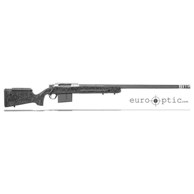 "Christensen Arms ELR 338 Lapua Mag 27"" 1/9.3"" Carbon Fiber LR Hunter Black w/ Gray Webbing Stock 801-07003-00"