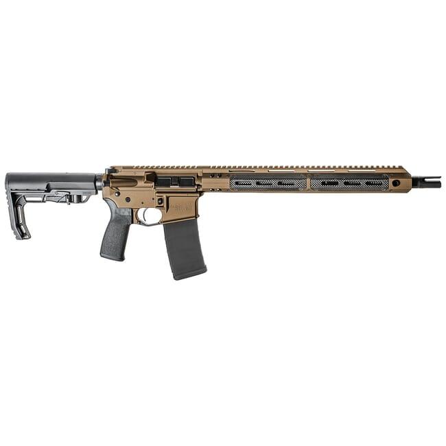 "Christensen Arms CA5five6 5.56 NATO 16"" 1:8"" MLok Burnt Bronze Rifle 801-09003-01"