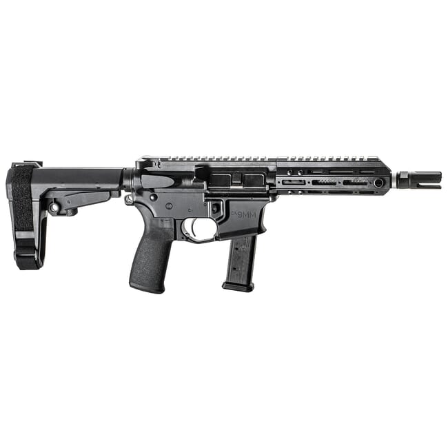 "Christensen Arms CA9MM 9mm 7.5"" 1:10"" M-LOK Black AR Pistol w/SB3 Tactical Brace 801-11006-00"