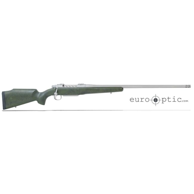 "Cooper Firearms M52 Timberline OD Green w/Black 7mm Rem Mag 24"" 1:9"" SS Bbl w/brake Spiral Fluted Bolt"